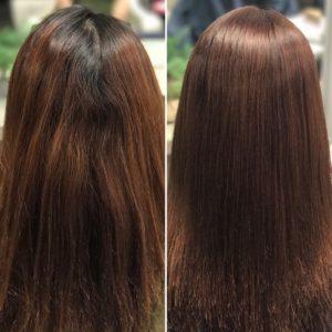 MAREA/RENATA縮毛矯正+カラー